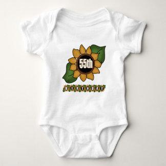 Sunflower 55th Birthday Gifts Tee Shirt
