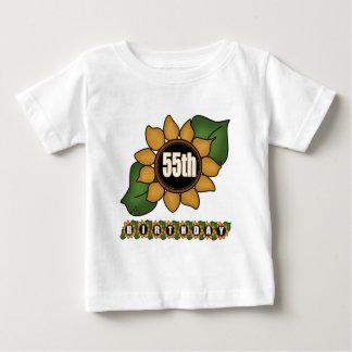 Sunflower 55th Birthday Gifts T Shirts