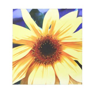 """Sunflower  5.5"""" x 6"""" Notepad - 40 pages"""