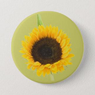 Sunflower 7.5 Cm Round Badge