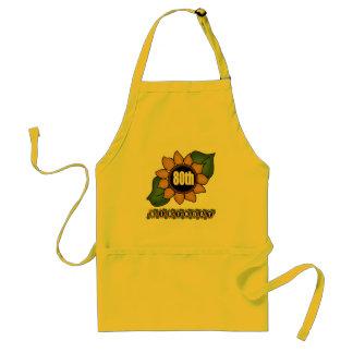 Sunflower 80th Birthday Gifts Standard Apron