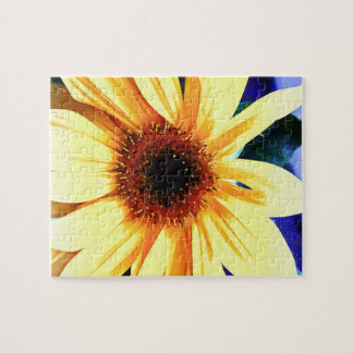 """Sunflower 8""""x10"""" Puzzle with Gift Box, 10 Pieces"""