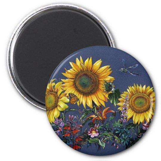Sunflower Adventure Magnet