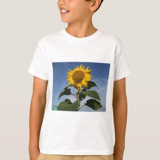Sunflower against blue sky T-Shirt