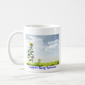Sunflower Allergy Awareness Mug