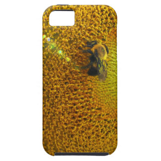 Sunflower and Bee Tough iPhone 5 Case
