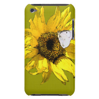 Sunflower and butterfly iPod touch Case-Mate case