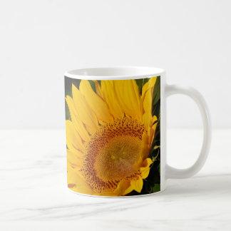 Sunflower and meaning basic white mug