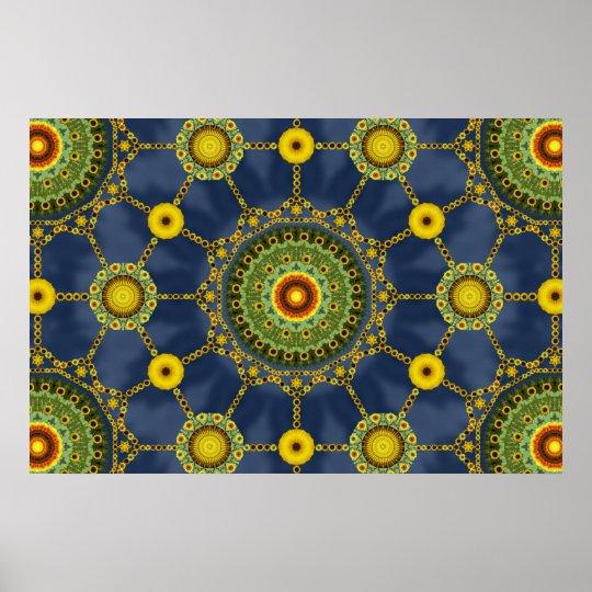 Sunflower Array 1 Poster