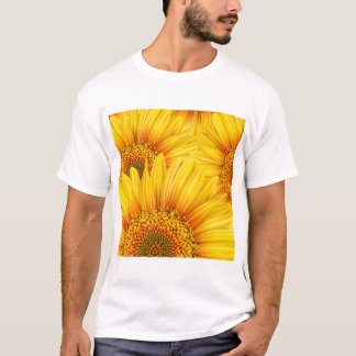 Sunflower Background Mens T-Shirt