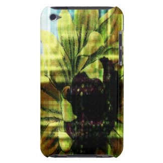 Sunflower Barely There iPod Cases