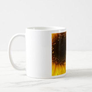 Sunflower Basic White Mug