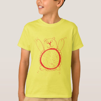 Sunflower Bear Children's T-Shirt