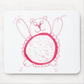 Sunflower Bear Mouse Mat