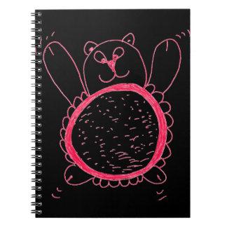 Sunflower Bear Notebook