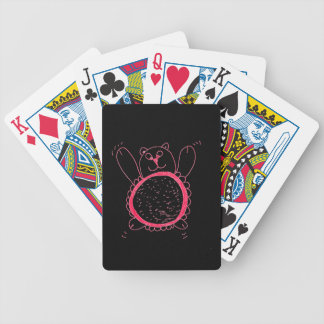 Sunflower Bear Playing Cards