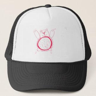 Sunflower Bear Trucker Hat