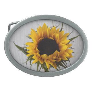 Sunflower Belt Buckle