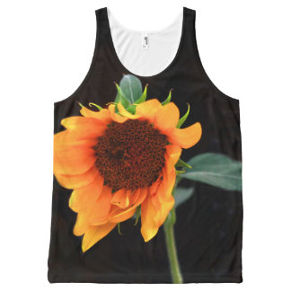 Sunflower bloom All-Over print tank top