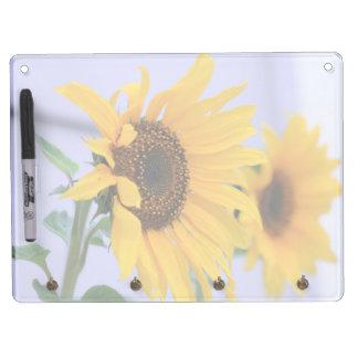 Sunflower bloom dry erase board