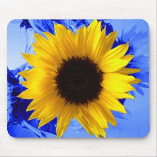 Sunflower Blue Mouse Mat
