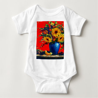 Sunflower,blue vase Still Life Red Gifts T-shirts