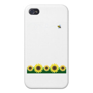 Sunflower Border Covers For iPhone 4