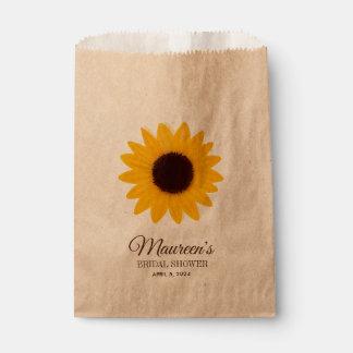 Sunflower Bridal Shower Favor | Candy Bag