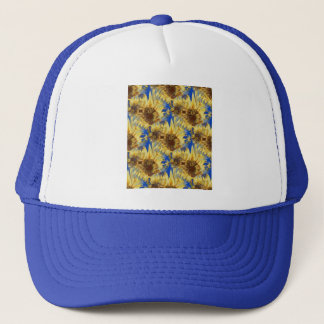 Sunflower Burst Trucker Hat