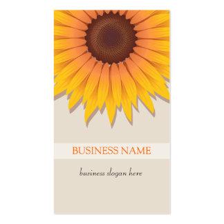 Sunflower Business Business Card Templates