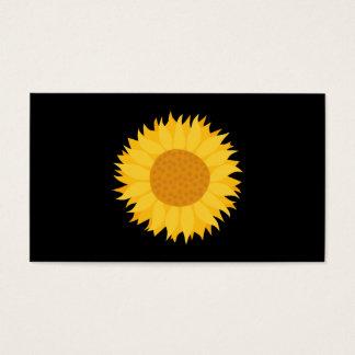Sunflower. Business Card