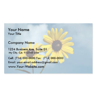Sunflower Business Card