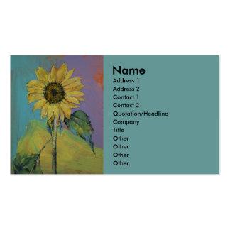 Sunflower Business Cards