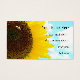 Sunflower Business Card (2)