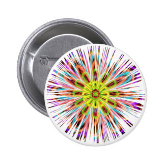SunFlower Chakra Sparkle - Happy Colors 6 Cm Round Badge