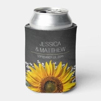 Sunflower Chalkboard Wedding