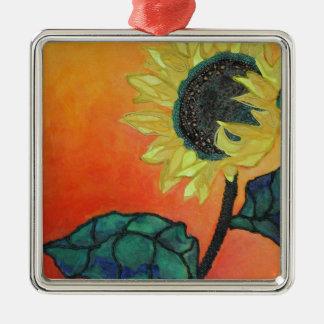 Sunflower Christmas Ornament