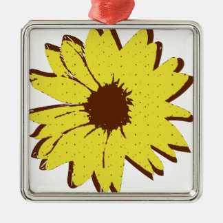 Sunflower Christmas Ornament