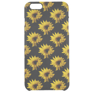 Sunflower Clear iPhone 6 Plus Case