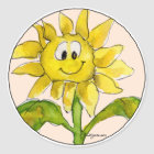 Sunflower Clipart Sticker 2