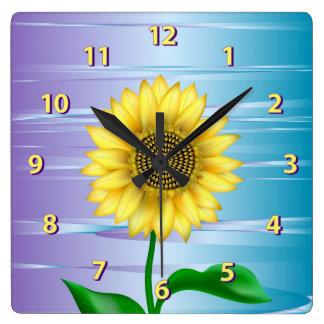 Sunflower Wallclock