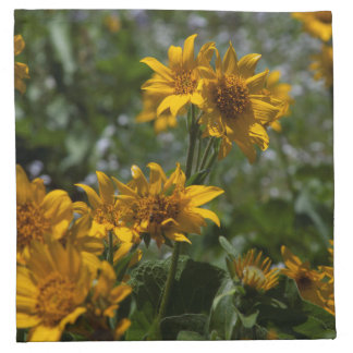 Sunflower Cloth Napkins