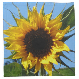 Sunflower Cocktail Cloth Napkins Set Of 4