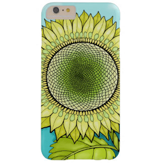 Sunflower Color Design Barely There iPhone 6 Plus Case