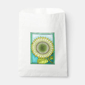 Sunflower Color Favour Bags