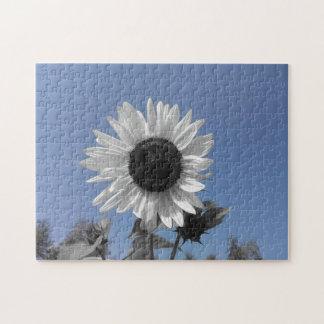 Sunflower Color Splash Jigsaw Puzzle