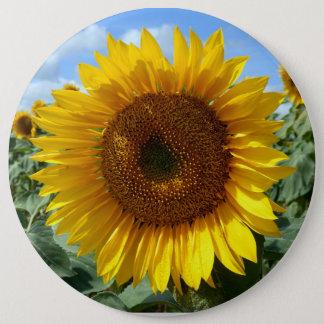 Sunflower Colossal Round Badge