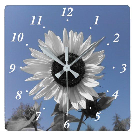 Sunflower Colour Splash Wall Clocks