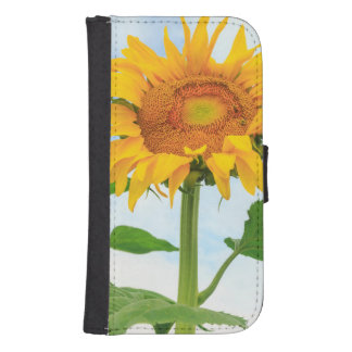 Sunflower, community garden, Moses Lake, WA, USA Samsung S4 Wallet Case