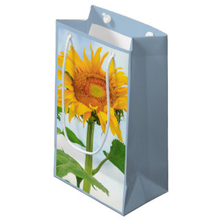 Sunflower, community garden, Moses Lake, WA, USA Small Gift Bag